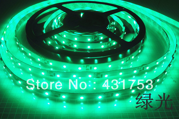 (Free shipping)20m/lot 3528 5m 300 leds SMD Led Strip 60 Led per meter White/Warm white/Blue/Green/Red/Yellow Not waterproof
