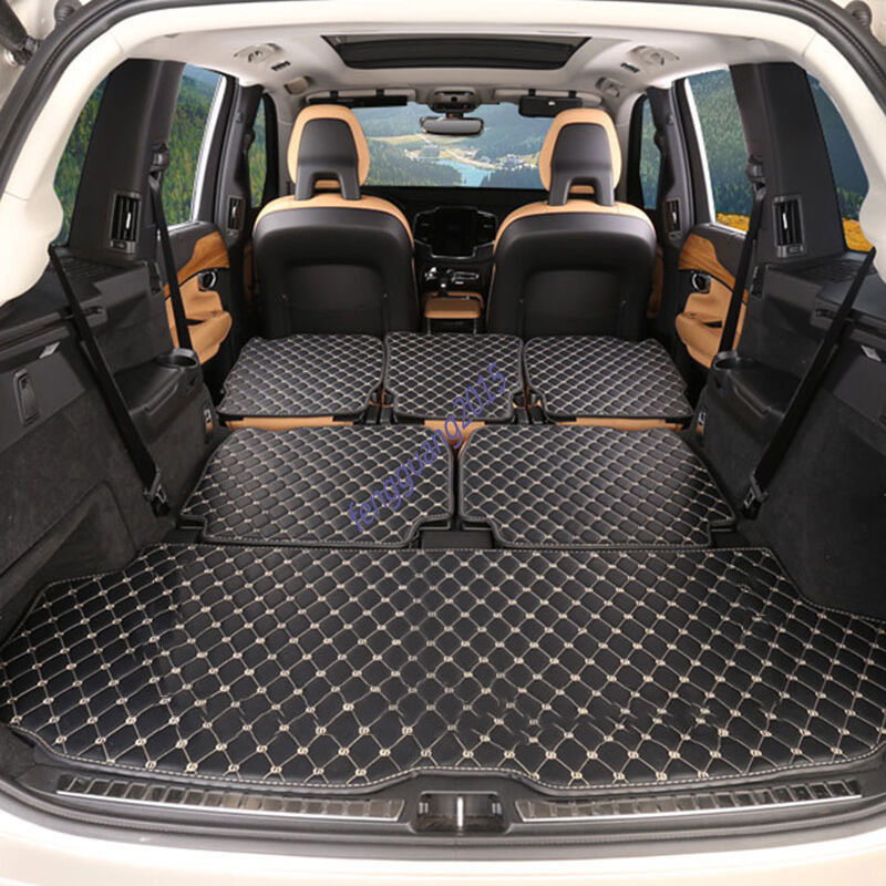 6pcs Rear Trunk Cover Cargo Mats Seat Protector ForNEW Volvo XC90 2016 2017 on Aliexpress.com ...