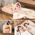 New Type Folding Portable Baby Bed Travel Super Light Weight Convenient  Newborn Infant Soft Baby Cribs Bed Carry Easy C01