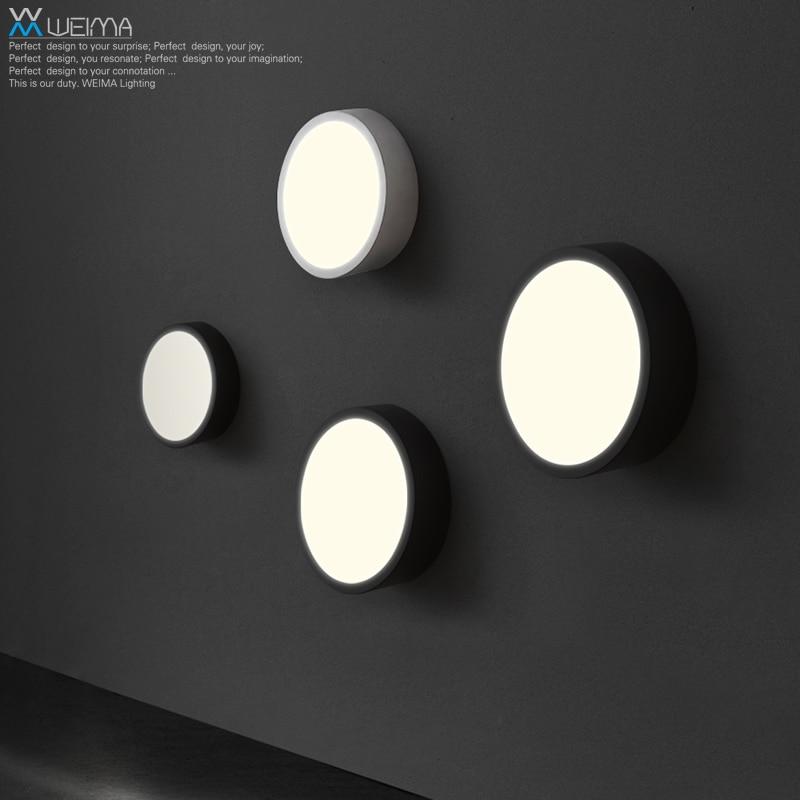 Здесь продается  Wilma personality LED living room bedroom modern minimalist art lamp wall lamp lighting balcony aisle lights round  Свет и освещение