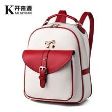 2016 Нью-Йорк мода марка небольшой рюкзак hotsale женская кошелек сумка леди клоун мешок школы студент рюкзаки