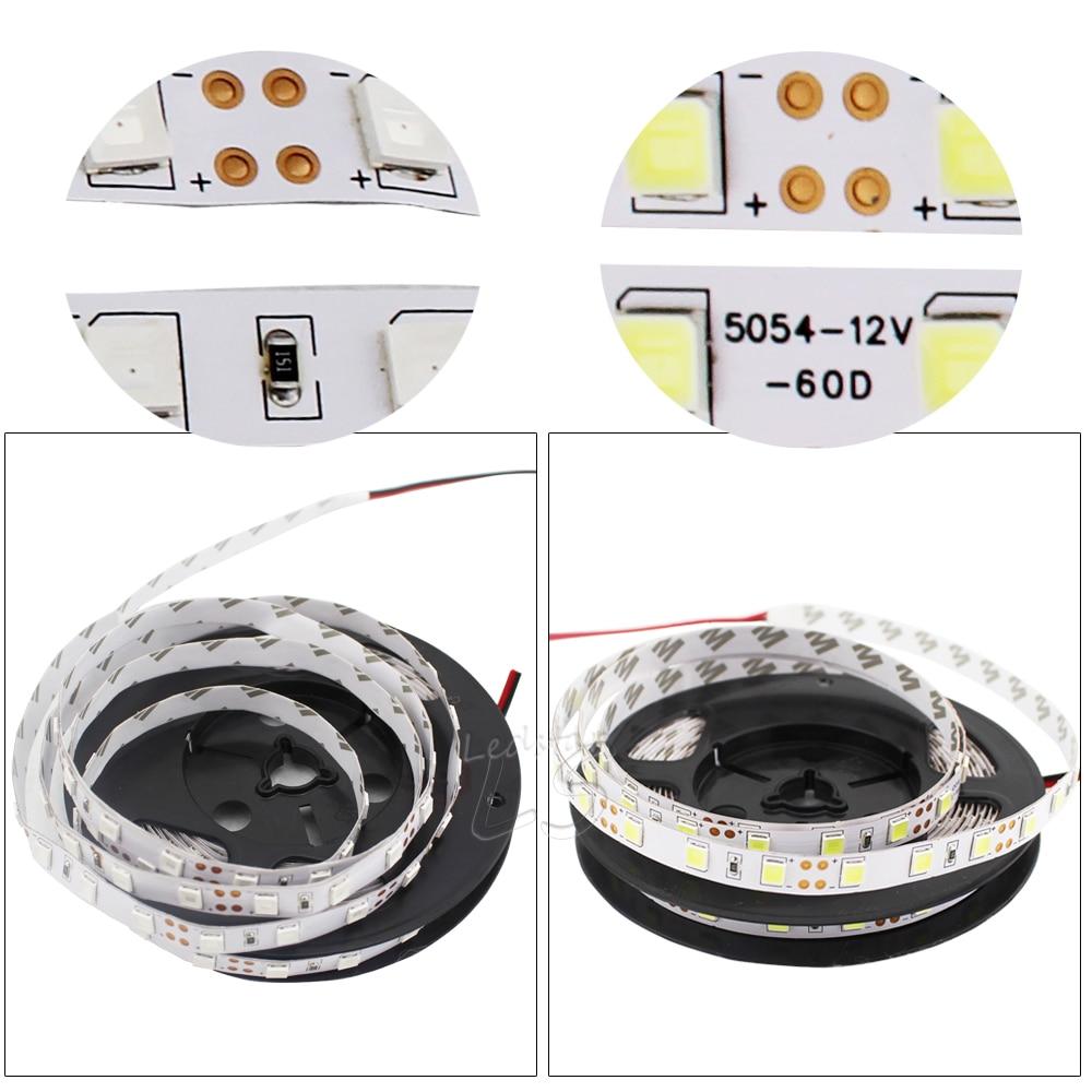 New arrived Brighter 120LEDs/m 60LEDs/m LED Strip 5054 DC12V Flexible LED Light, 5054 is the Upgrade of 5050.