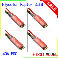 Flycolor Raptor SLIM 40A Brushless ESC BLHeli S32 2 4S Dshot Electrical Speed Controller for 250 FPV Racing Quadcopter RC Racer