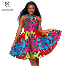African dresses for women sexy dress ankara cotton print traditional african clothes big size 5xl