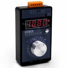 Портативный 0-5 в 0-10 в 4-20 мА генератор со светодиодным дисплеем Высокая точность Регулируемый DC Ток Напряжение генератор сигналов без батареи
