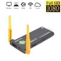 J22 Android Smart TV Box Mini PC 4k HD RK3229 Qual core TV Stick 2G RAM 8G/16G ROM TV Dongle UHD Media player Wireless Dongle