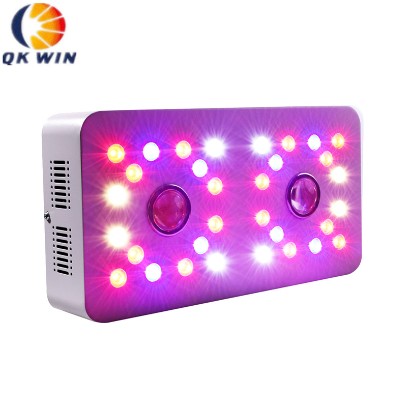 Qkwin Grow 1000W COB LED Grow Light Full Spectrum Indoor Hydroponic Greenhouse Plant Growth Lighting Replace UFO Growing Lamp
