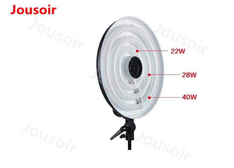 Falconeye RFL-3 Anneau lumière 22 w + 28 w + 40 w photographique lumière 5000-5500 k lampe professionnel ring de tournage lumière CD50 T06
