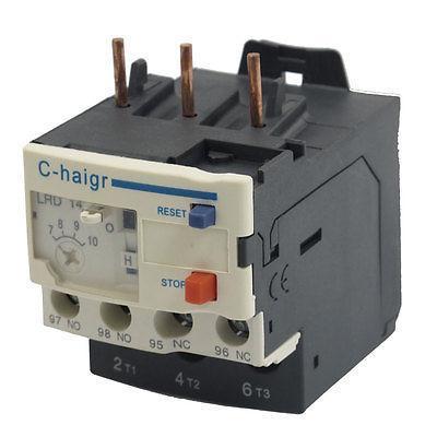 все цены на  3 Pole AC 7A - 10A Electric Thermal Overload Relay 1 NO 1 NC Cqlzr  онлайн