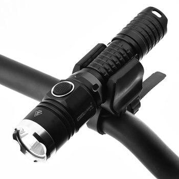 Bright Bike Lights | 5 Modes Dual Switch NITENUMEN TA01-S LED Cycling Lamp Portable Bike Front Light Super Bright Bicycle Headlight