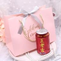 20pcs/lot Paper Bag Candy Bag Wedding Gift Bag Birthday Party Decoration Christmas Gift Kids Favor 24.5*18*12cm