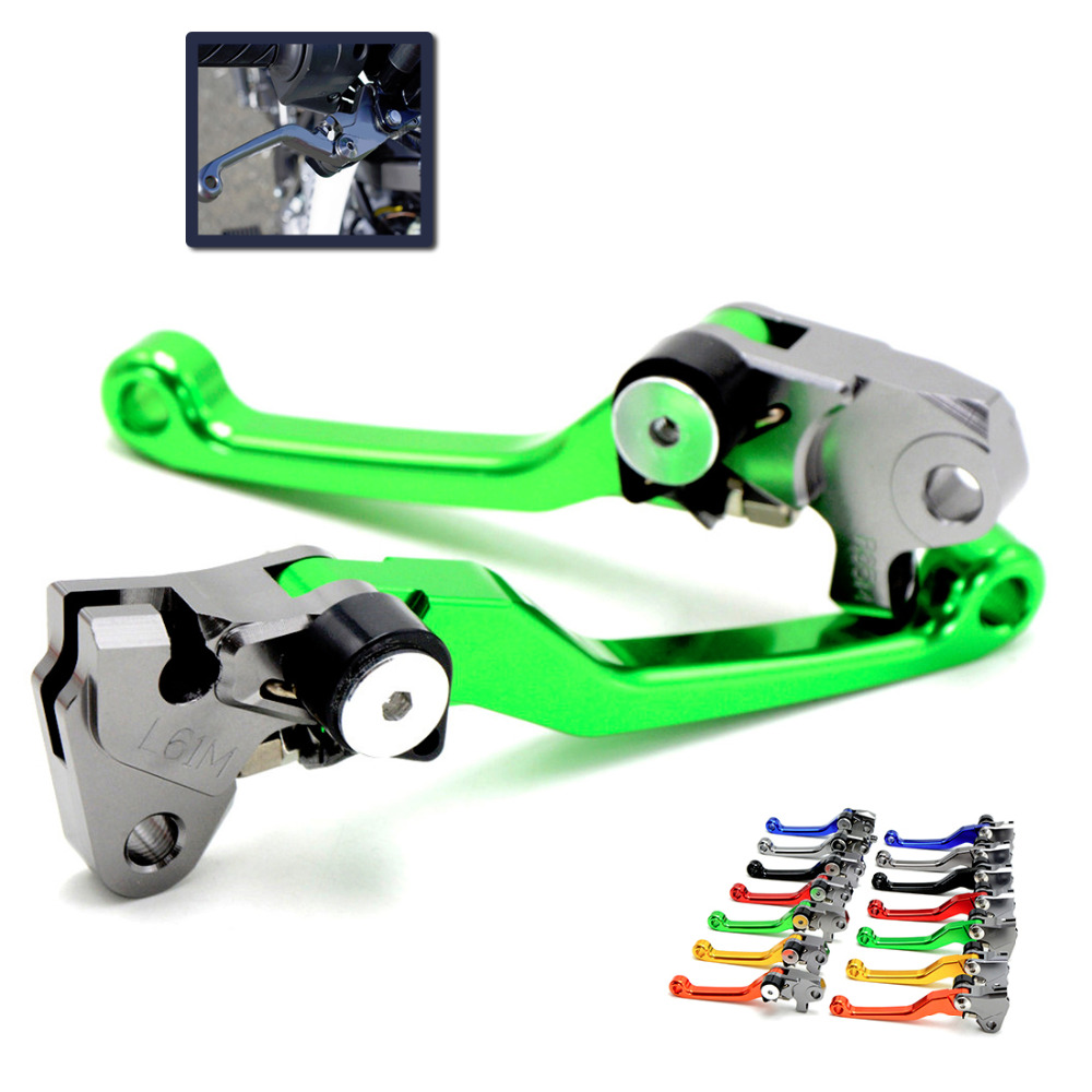 dirt bike Pivot Brake Clutch Levers Foldable For KTM KX85 EXC450 KAWASAKI KX 500 CRF YZF RMZ KXF YAMAHA YZ/YZF KTM 250 motocross dirt bike enduro wheel rim spoke shrouds skins covers wr250 for ktm kx85 exc450 for kawasaki kx 500 crf yzf rmz kxf