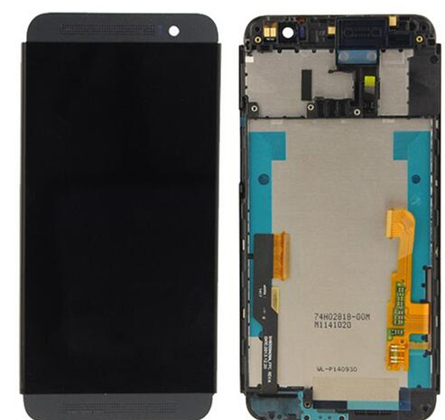 ФОТО White or Black LCD screen display+ touch panel digitizer with frame For HTC One M8S Free shipping