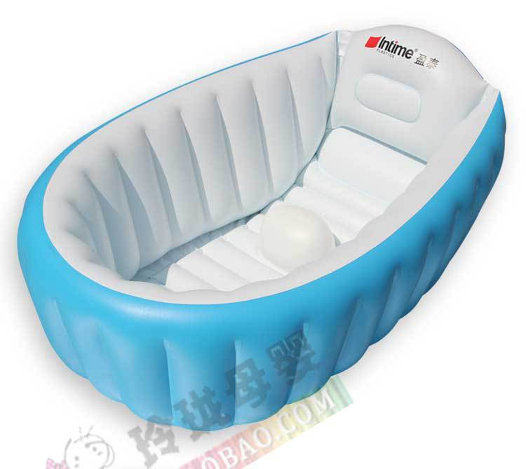 new design Inflatable Baby Bathtub Inflating Bath Tub for Toddlers ...