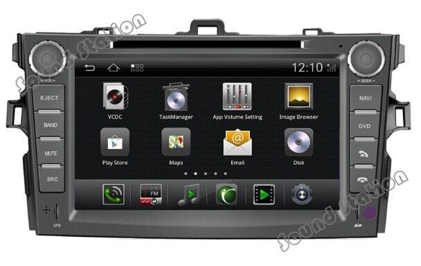 New Corolla Altis Video Grand Avanza Veloz 1.5 2017 Android For Toyota Car Dvd Gps Navigation Radio Audio Autoradio Headunit Central Multimedia Multimidia