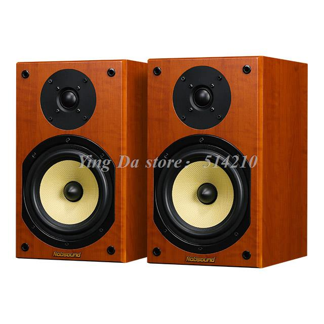 1pair good quality NS-2000 Nobsound hifi 6.5 inch Passive speakers Bookshelf speakers