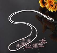 Горячая продажа! 48 шт/лот 15 мм медная змея ожерелье 42 см