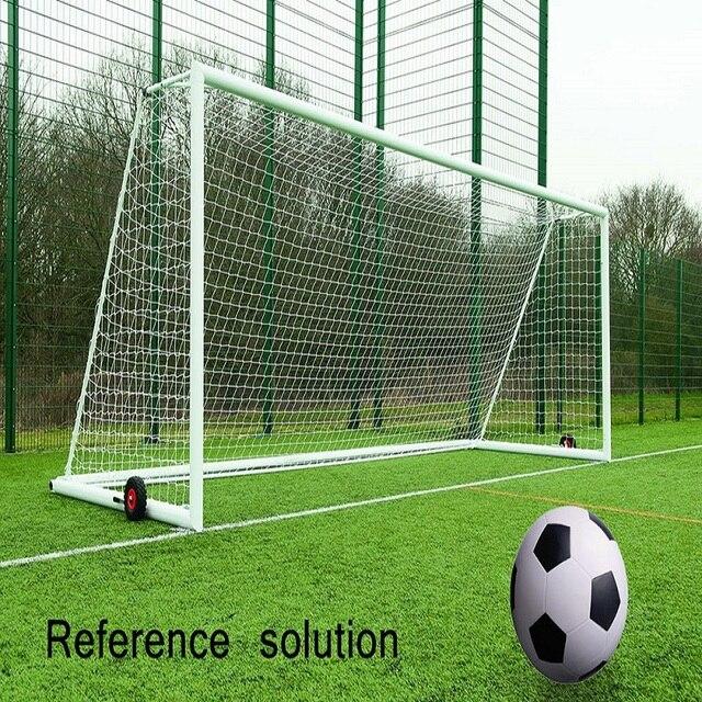 3fd90cc6c 8 x 24 FT Full Size Football Net for Soccer Goal Post Junior Sports  Training Rain-resistant Weather-proof Football Net Adult
