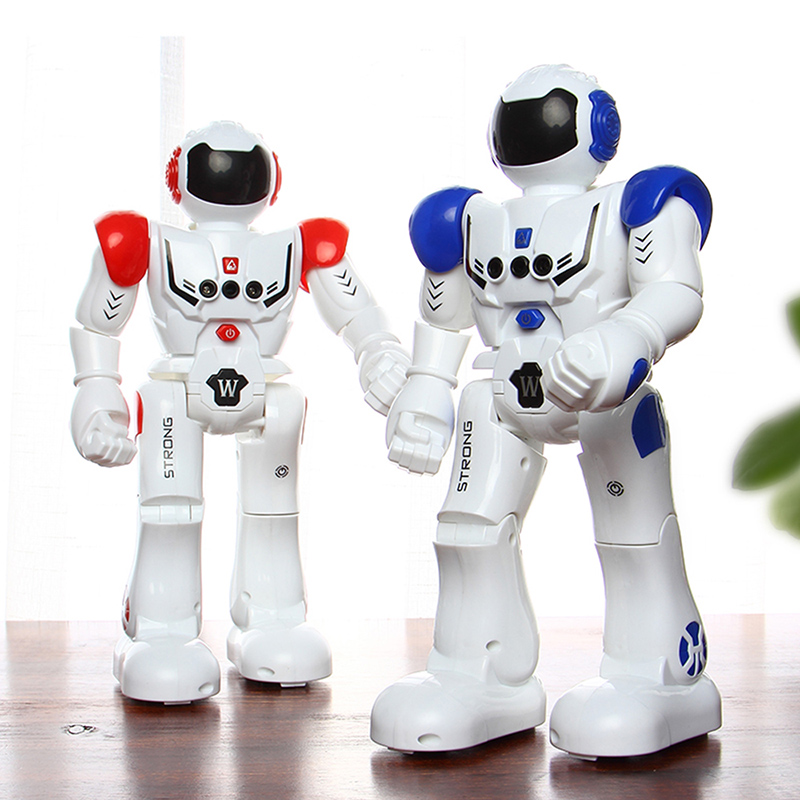Image 4 - DODOELEPHANT RC Smart Robot Remote Control Robot Toy Action Figure With Gesture Function Toy For Boys Children Birthday Gift-in RC Robot from Toys & Hobbies