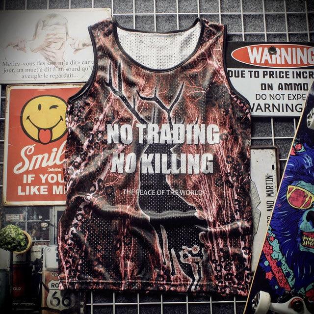 New 2018 Tank Top breathable summer fitness sleeveless leisure undershirt T-shirt, Match, 3D printing Pelicans men's vest 1909 4