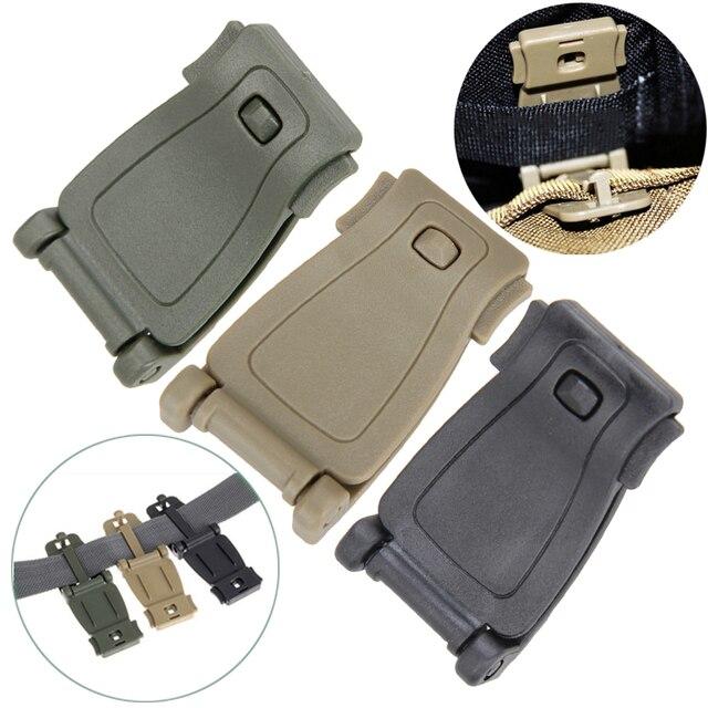 Gear Gesp Aansluiten 5 Stksset Webbing Tas In Clip Edc Molle Accessoire Outdoor Gereedschap Riem Militaire Rugzak clJuTF35K1