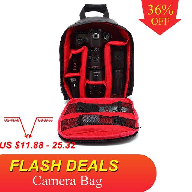 Multi-funktionale Kamera Rucksack Video Digital DSLR Tasche Wasserdichten Outdoor-Kamera Foto Tasche Fall für Nikon/für Canon /DSLR