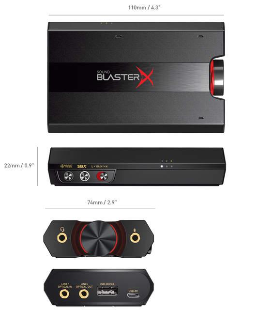 Creative Sound BlasterX G5 Amplifier Drivers for Windows XP