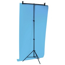 40cm 200cm Cross Bar photographic Background Backdrops Aluminum Tripod Cross Bar Stand PVC Holder