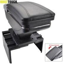 Drehbare Lagerung Box Für Nissan/VW/Kia/Honda Center Centre Armlehne Konsole Auto Arm Rest