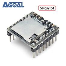 Diy에 대 한 5 개/몫 DFPlayer 미니 MP3 플레이어 모듈 무료 배송