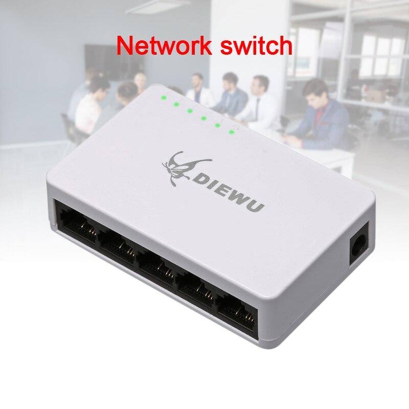 TP-LINK TL-SF1005MP 5-Port 10//100 Mbps Unmanaged PoE Switch 48V
