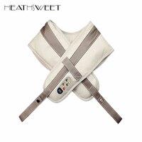 Electrical Shiatsu Shoulder Massage Shawl 3D Kneading Vibration Back Neck Massager Frozen Waist Shoulder Pain Relief