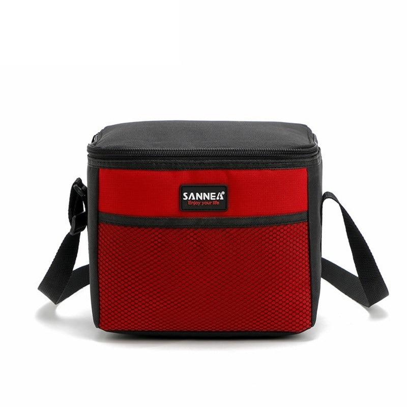 2018 neue Mode Tragbare Isolierte Baumwolle mittagessen Tasche Thermische Lebensmittel Picknick Mittagessen Taschen für Frauen kinder Männer Kühltasche Mittagessen box