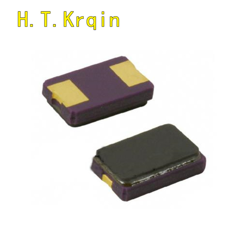 50PCS 5032 10MHZ 11.0592MHZ <font><b>12.288MHZ</b></font> 22.1184MHZ 10M 11.0592M 12.288M 22.1184M 2 feet Passive crystal oscillator Patch 2 foot image