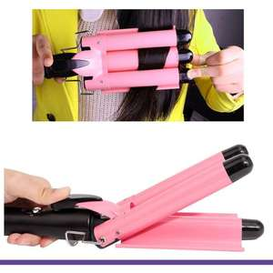 Professional Hair Curling Iron Ceramic Triple Barrel Hair Curler Irons Hair Wave  Wand Styling Tools