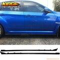For 2015-2016 Subaru WRX 4Dr STI Style Side Skirts - Carbon Fiber CF USA Domestic Free shipping