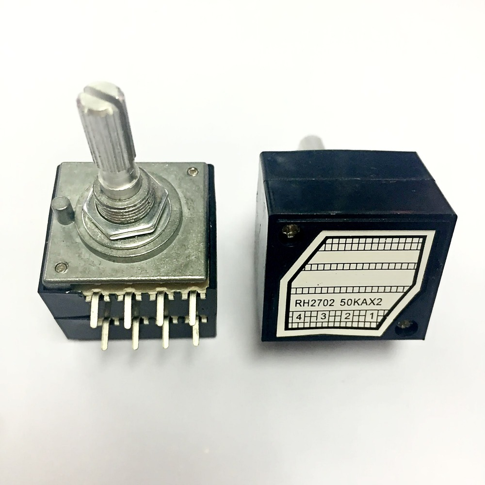 resistor stepping double volume potentiometer RH2702 50KA index 50KA RH2702 100KA RH2702 250KA RH2702 2702 50KA