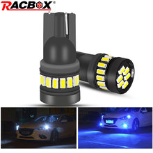 2pcs T10 LED Canbus Signal Lamp W5W 168 194  3014 21SMD Car Led Auto Interior Lights White ICE Blue No Error Turn light 12v aslent t10 w5w 194 white ice blue red yellow canbus error free car bulb led light interior read auto lamps 3014 smd 57 chips 12v