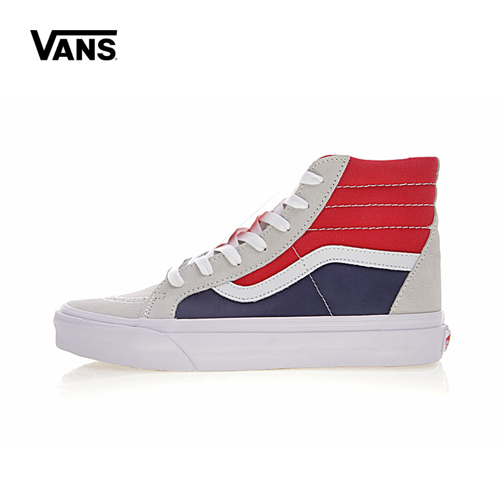 Original New Arrival Vans Men s   Women s Classic SK8-HI Skateboarding  Shoes Sport Outdoor Sneakers Canvas VN0A2XSBQKN ae6b79572aac
