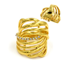 Hipster Hollow-out Ring For Women