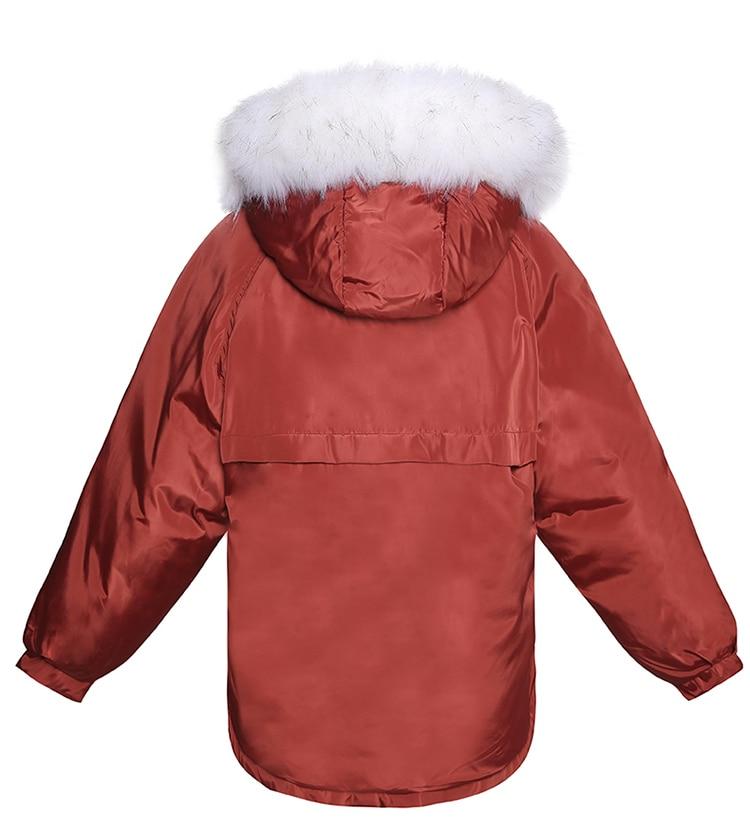 Doublure Raton Cheveux Veste Épais Rembourré Chart D'hiver Collier Coton Femmes Laveur Manteaux see Parka See Dames Noir Nouveau Chart Femelle 2018 Artificielle wYa5wq8