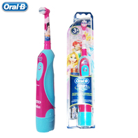 Oral B Children Kids Electric Toothbrush DB4510 Princess Girls Oral Care Soft Bristle Gum Care Toothbrush