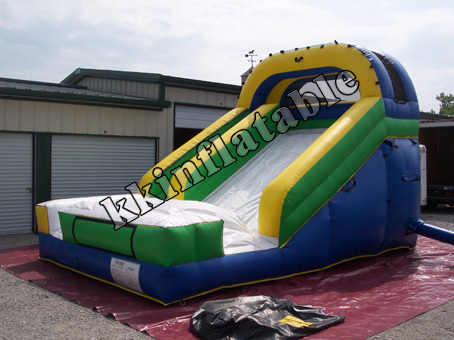 0.55mm PVC Tarpaulin Commercial Grade Party Hire Inflatable Slide
