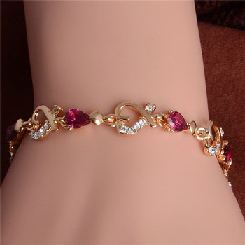 Women's Fashion Colorful Bracelets Bracelets Jewelry New Arrivals Women Jewelry Metal Color: H089