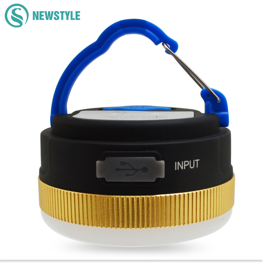 300LM LED Outdoor Lighting Portable Lantern Hiking Camping LED Night Light Portable 5 Modes LED Lantern with USB Wire