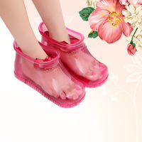 Foot Bath Massage Boots Household Relaxation Slipper Shoes Feet Care Hot Compress Foot Soak Theorapy Massage Acupoint