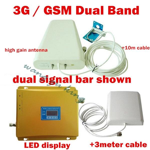 Vendita Calda 1 Set Dual Band 900 e 3g Ripetitore per il Segnale Ripetitore Amplificatore, GSM Ripetitore 3g Booster 2100 mhz, 3g Amplificatore di SegnaleVendita Calda 1 Set Dual Band 900 e 3g Ripetitore per il Segnale Ripetitore Amplificatore, GSM Ripetitore 3g Booster 2100 mhz, 3g Amplificatore di Segnale