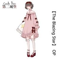 Sweet Lolita Dress Original Design OP Lolita Dress Cute Girl Princess Pink Black Dress Pink Black