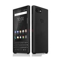 Original Genuine Leather Case for Blackberry KEY2 Business Flip Bag& Silicone TPU Soft Back Cover for Blackberry Key 2 Brand New