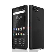 Original Silikon Zurück Fall für Blackberry KEY2 Silikon TPU Weiche Rückseitige Abdeckung für Blackberry Schlüssel 2 Marke Neue